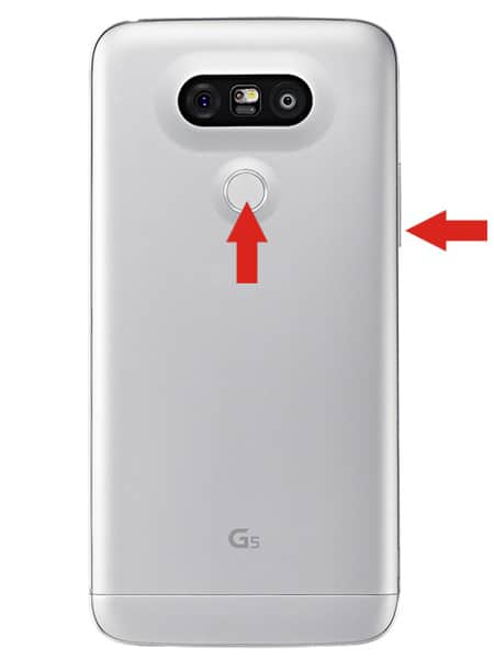 Hard Reset keys Type 2 LG K500H(LGK500H) aka LG X Screen